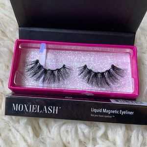 MoxieLash Lashes and Magnetic Liner!